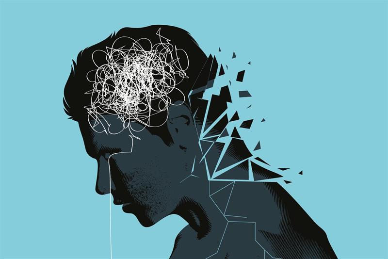 آسیب های مغزی افسردگی