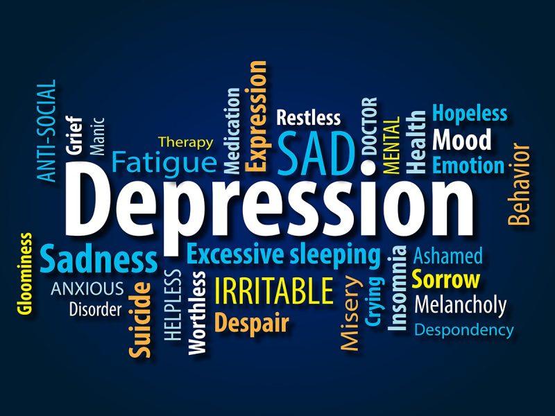 افسردگی نقشه مغزی